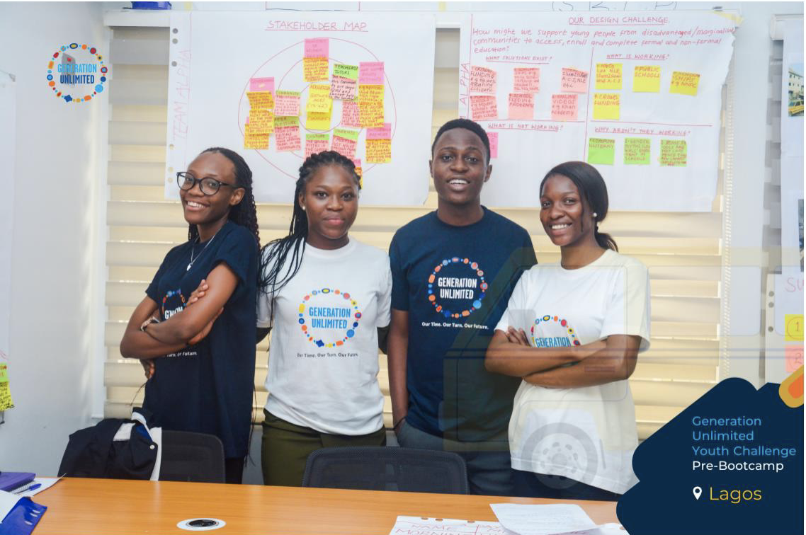 Team Alpha, Rudimentary Business Literacy Programme; Lagos; March 2020
