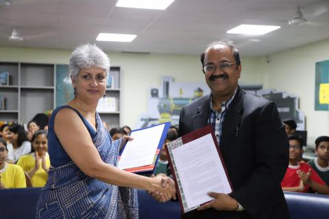 Dr Yasmin Ali Haque, UNICEF Representative in India & Mr. Ramanathan Ramanan