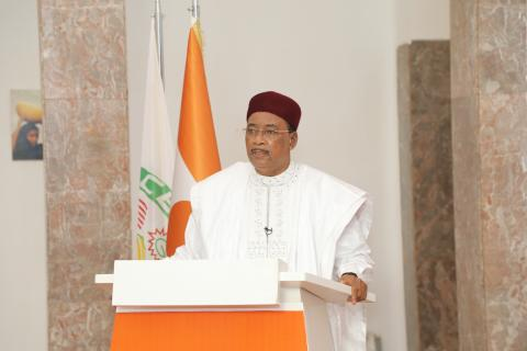 His Excellency M. Mahamadou Issoufou, President of the Republic of Niger