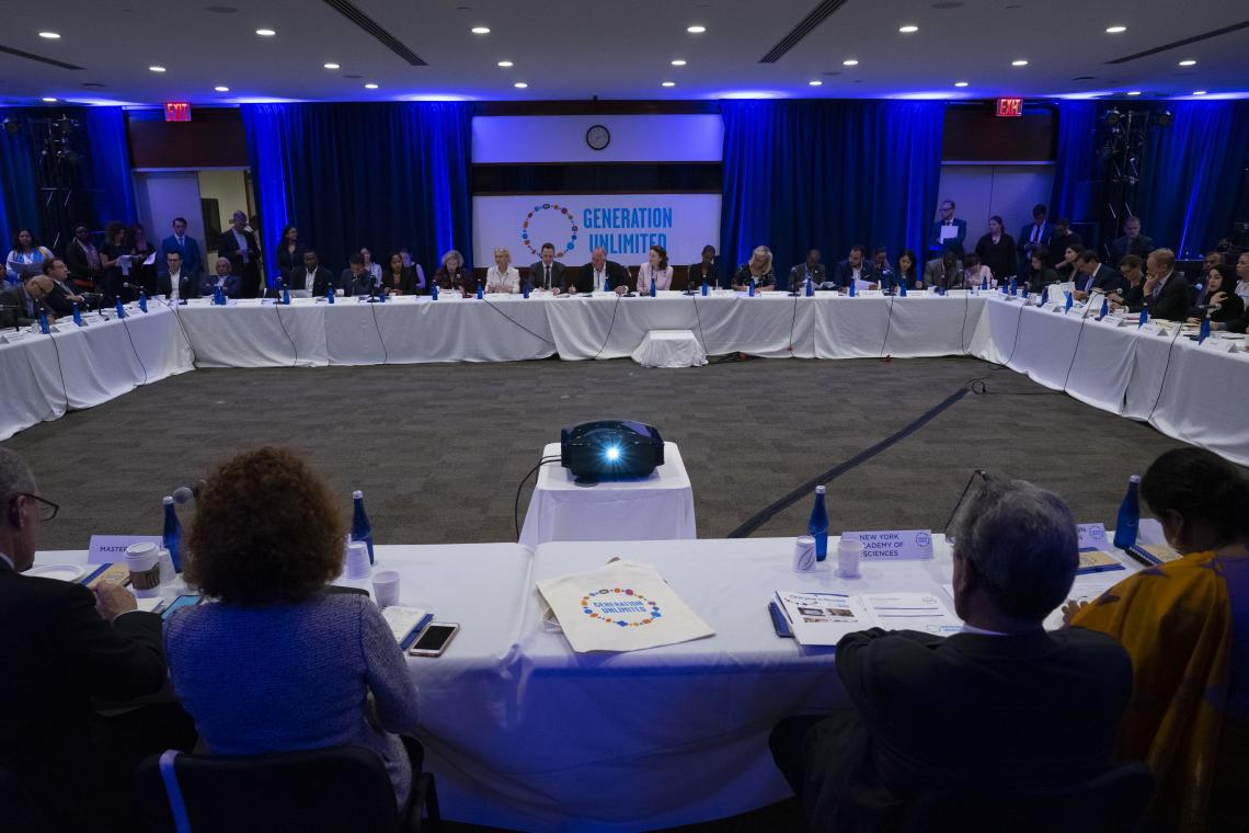 Third Global Board Meeting of Generation Unlimited on 23 September 2019 at UNICEF House in New York.
