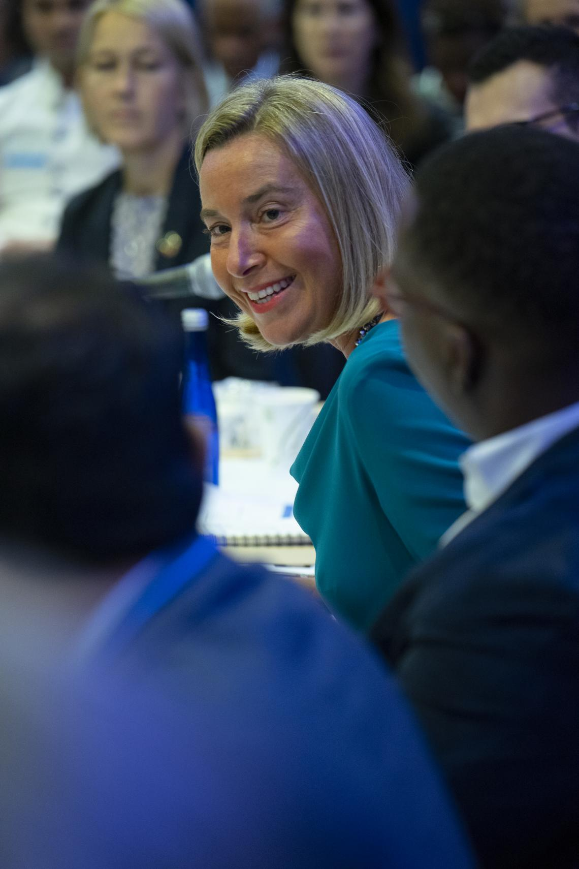 Federica Mogherini, High Representative of the EU for Foreign Affairs and Security Policy, Vice President of the EU Commission