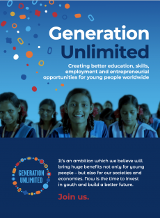 Generation Unlimited Brochure Cover