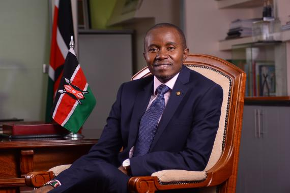 Mr. Joseph Mucheru Cabinet Secretary, Ministry of Information and Communications, Republic of Kenya