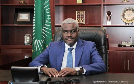 Mr. Moussa Faki Mahamat Chairperson, African Union Commission
