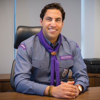 Mr. Ahmad Alhendawi Secretary-General, World Organization of the Scout Movement