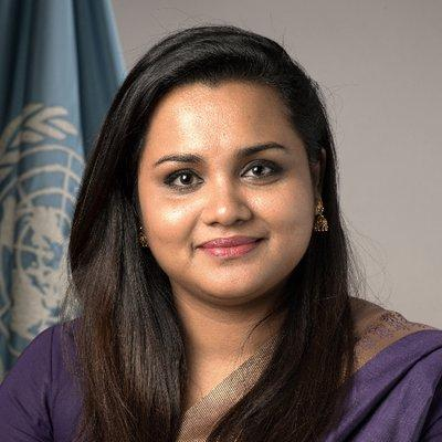 Ms. Jayathma Wickramanayake Secretary General's Envoy on Youth, United Nations