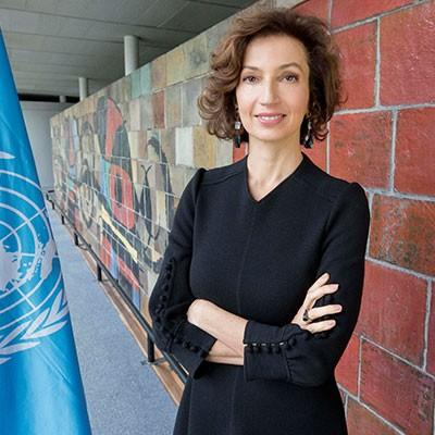 Ms. Audrey Azoulay Director-General, United Nations Educational, Scientific and Cultural Organization (UNESCO)